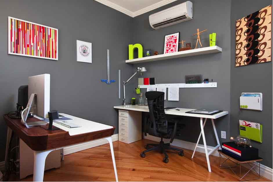 Brilliant Ideas For Small Space Home Offices